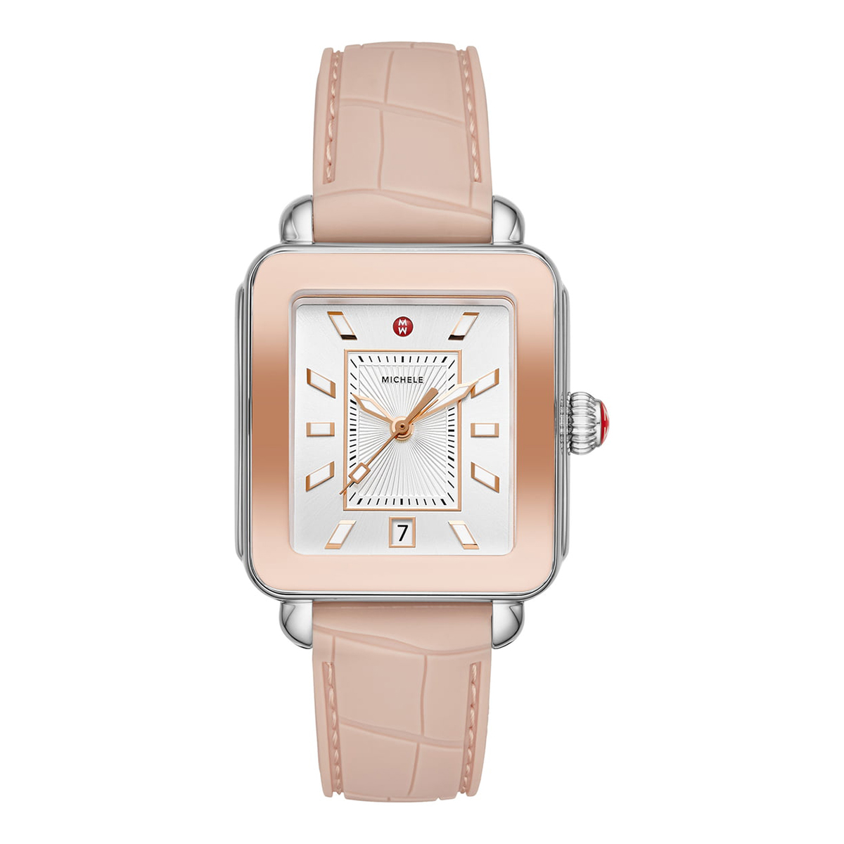 Best Square-Faced Option: Michele Deco Sport Watch