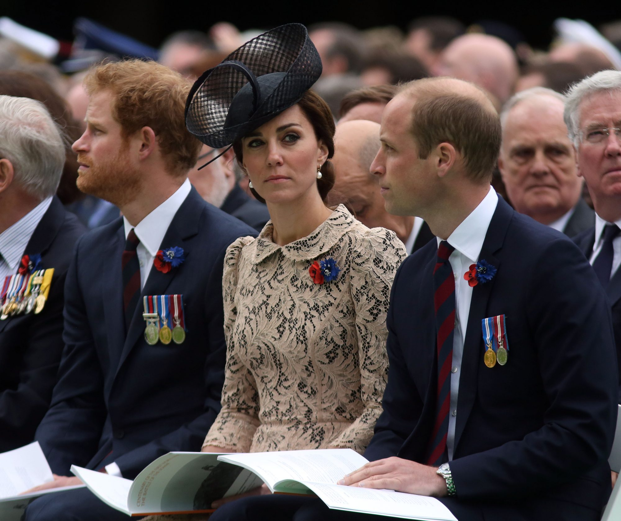 Kate Middleton Reportedly Put an End to Prince William and Prince Harry's Rumored Feud