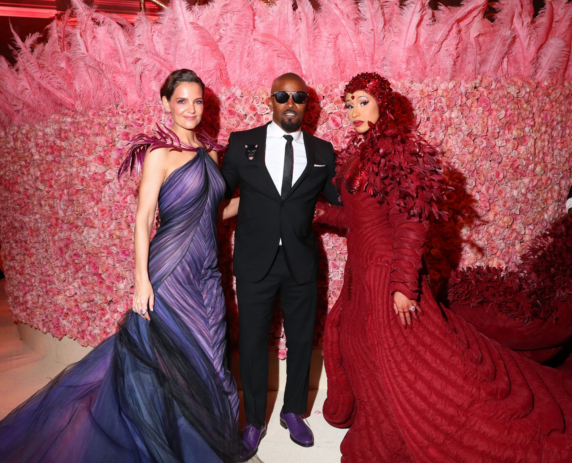 You Totally Missed Katie Holmes and Jamie Foxx's Met Gala Debut