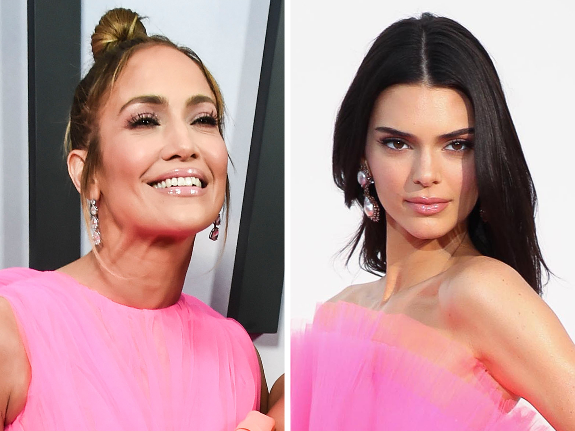 Kendall Jenner Wore Jennifer Lopez's Giambattista Valli Dress — Sort of