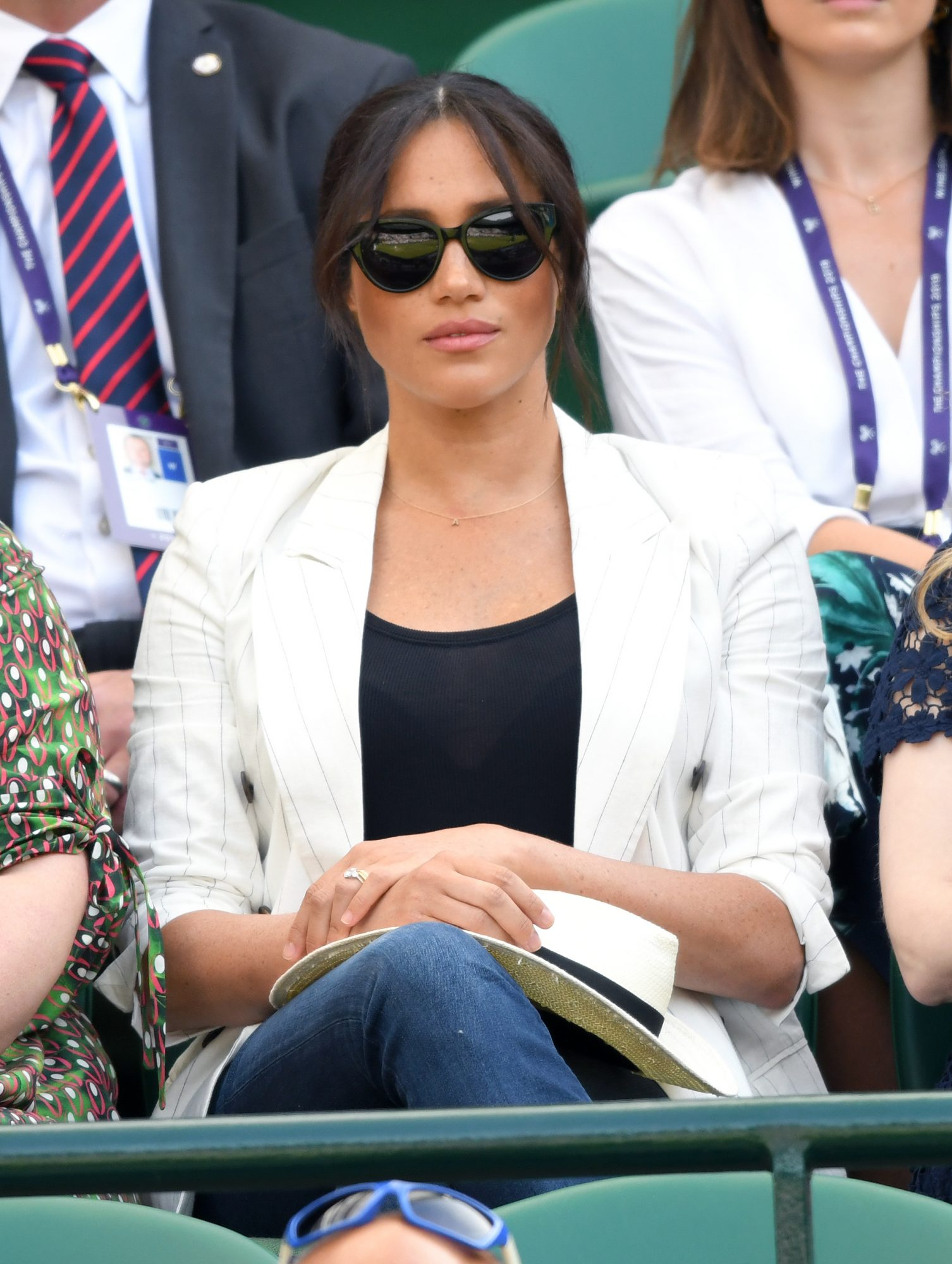 "Meghan Markle Was Just Called a ""Nightmare"" by a Wimbledon Official for Wearing Jeans"