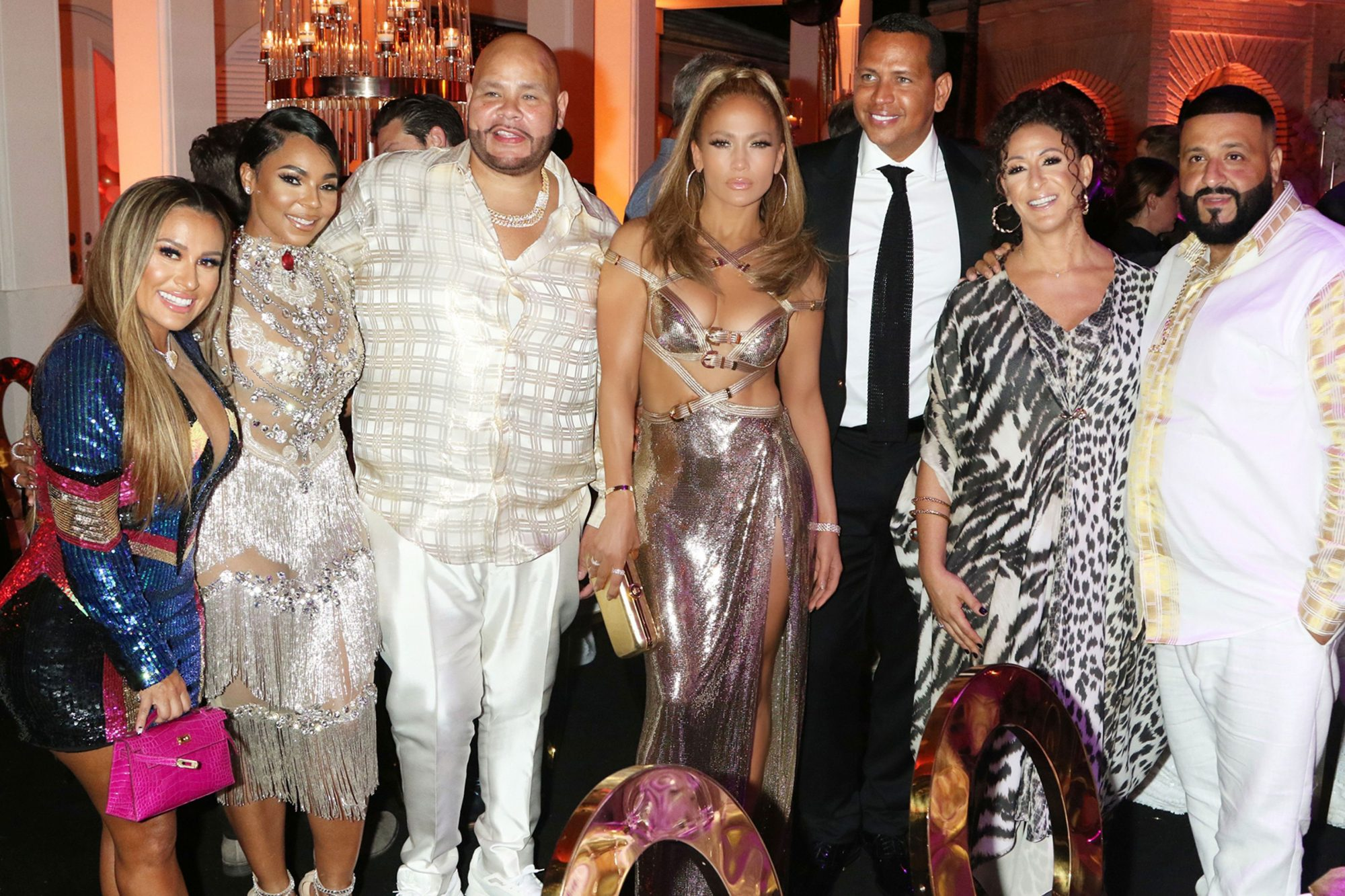 Jennifer Lopez's Stylist Shared a Behind-the-Scenes Look at Her Custom Cut-Out Birthday Dress
