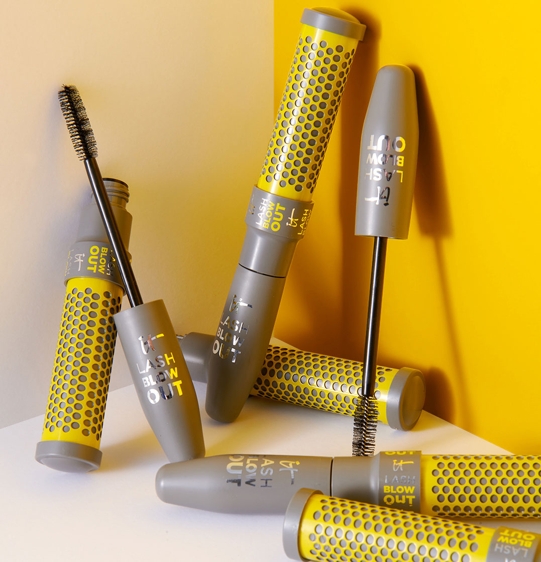 IT Cosmetics and Drybar Created a Mascara That's Like a Blowout for Your Lashes