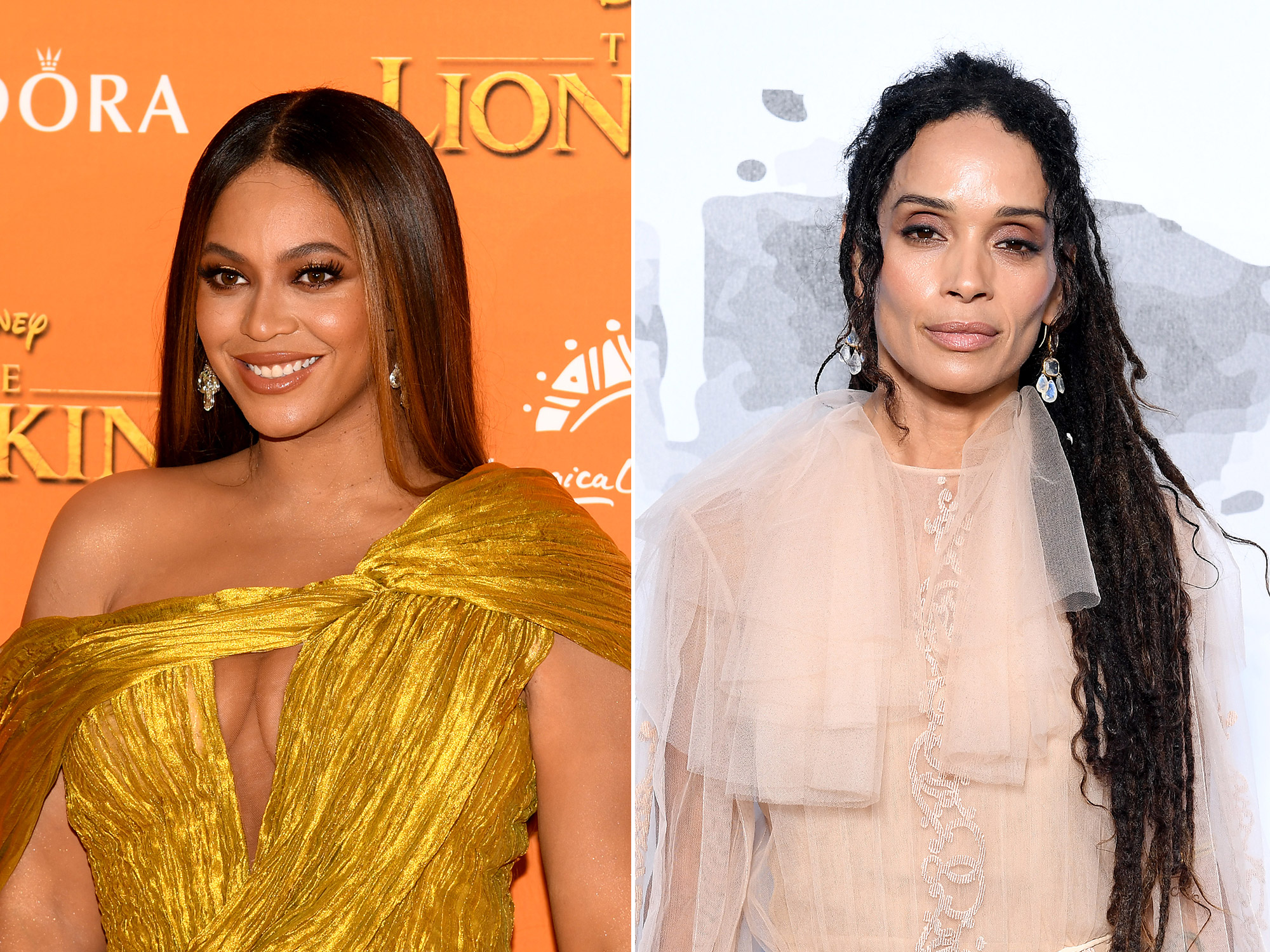 Beyoncé Is Unrecognizable Dressed as Lisa Bonet in These Never-Before-Seen Halloween Photos