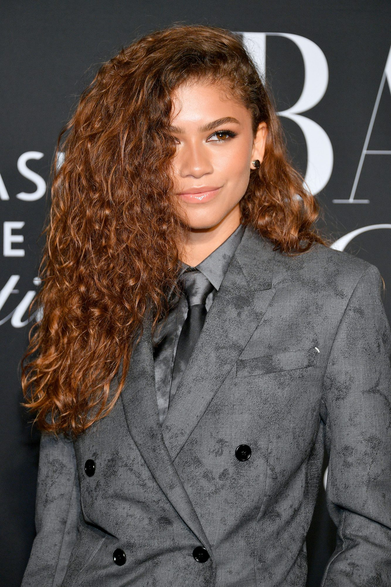Zendaya Dyed Her Hair Super Red Again