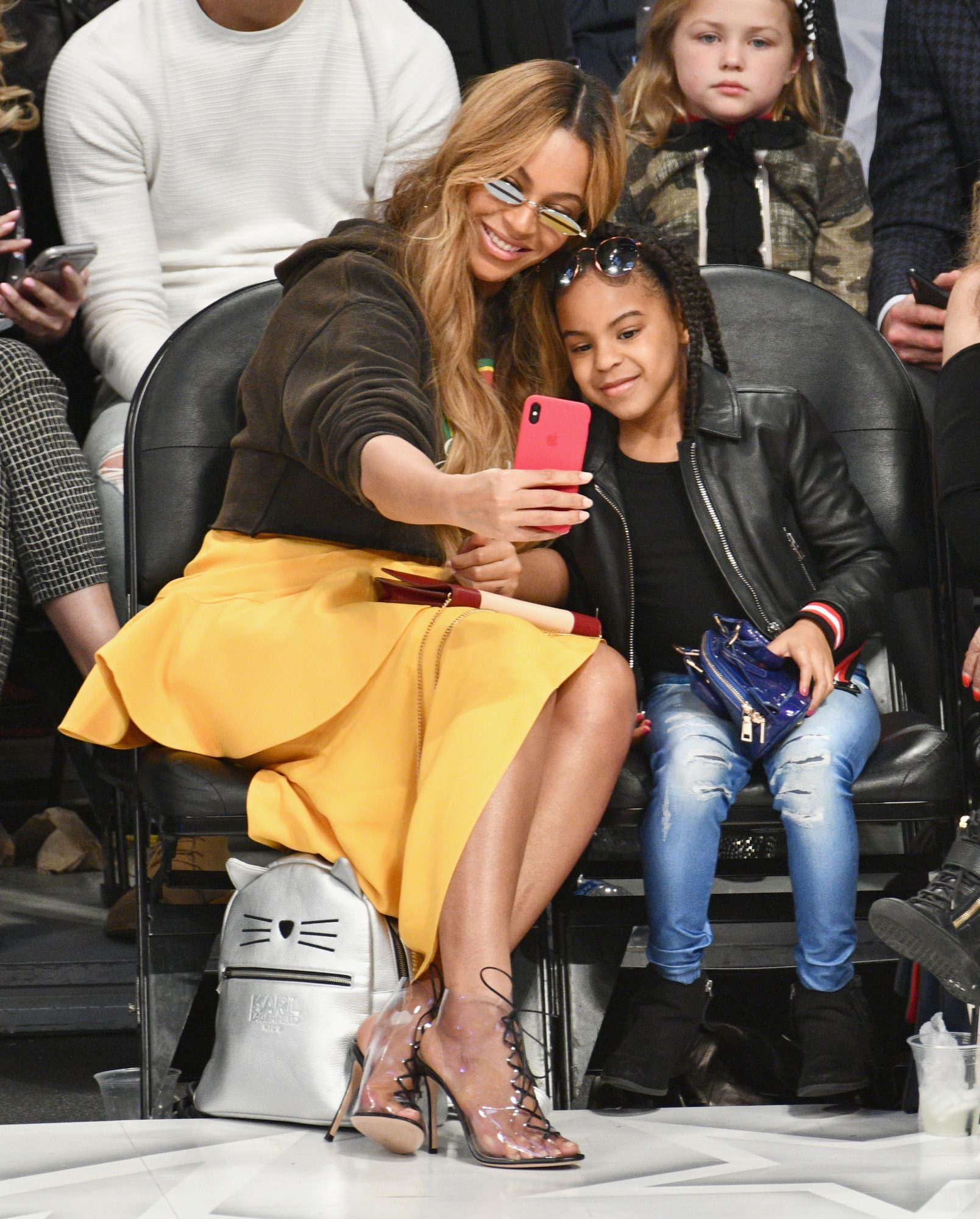 Beyoncé and Blue Ivy Nailed <em>The Lion King</em> Theme at the Wearable Art Gala