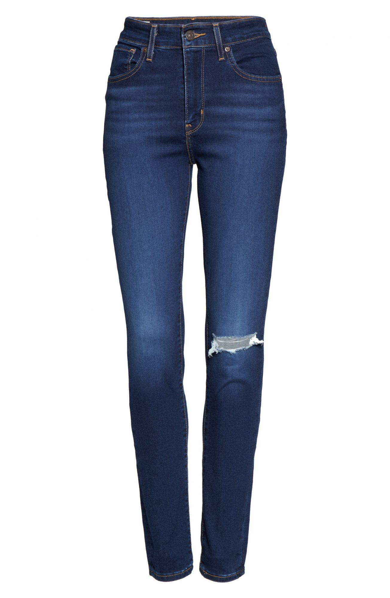 Nordstrom Black Friday Sale 2019 Levi's 721 Ripped High Waist Skinny Jean