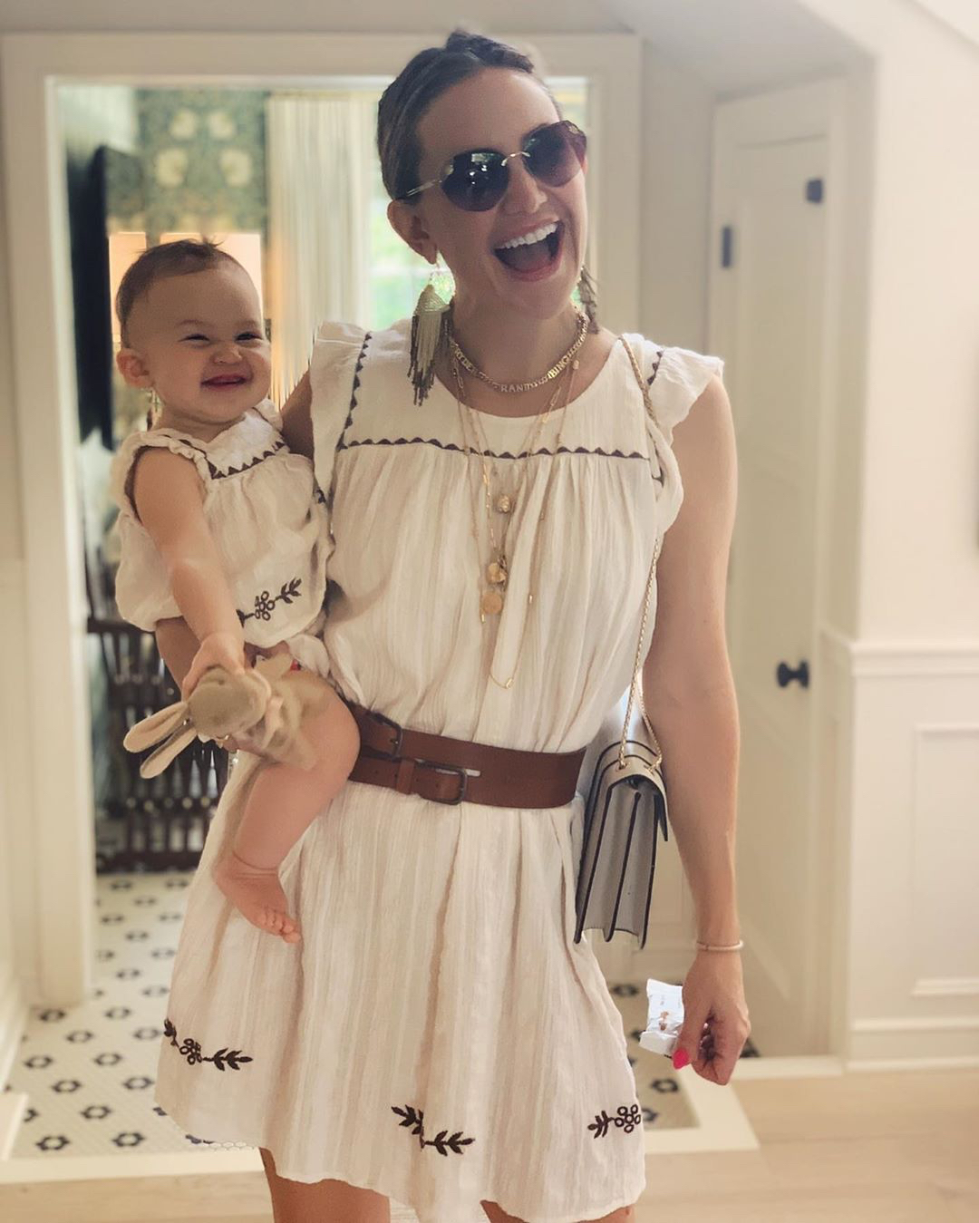 Kate Hudson's Daughter Rani Rose Just Took Her First Steps While Wearing a Kurt Russell Onesie