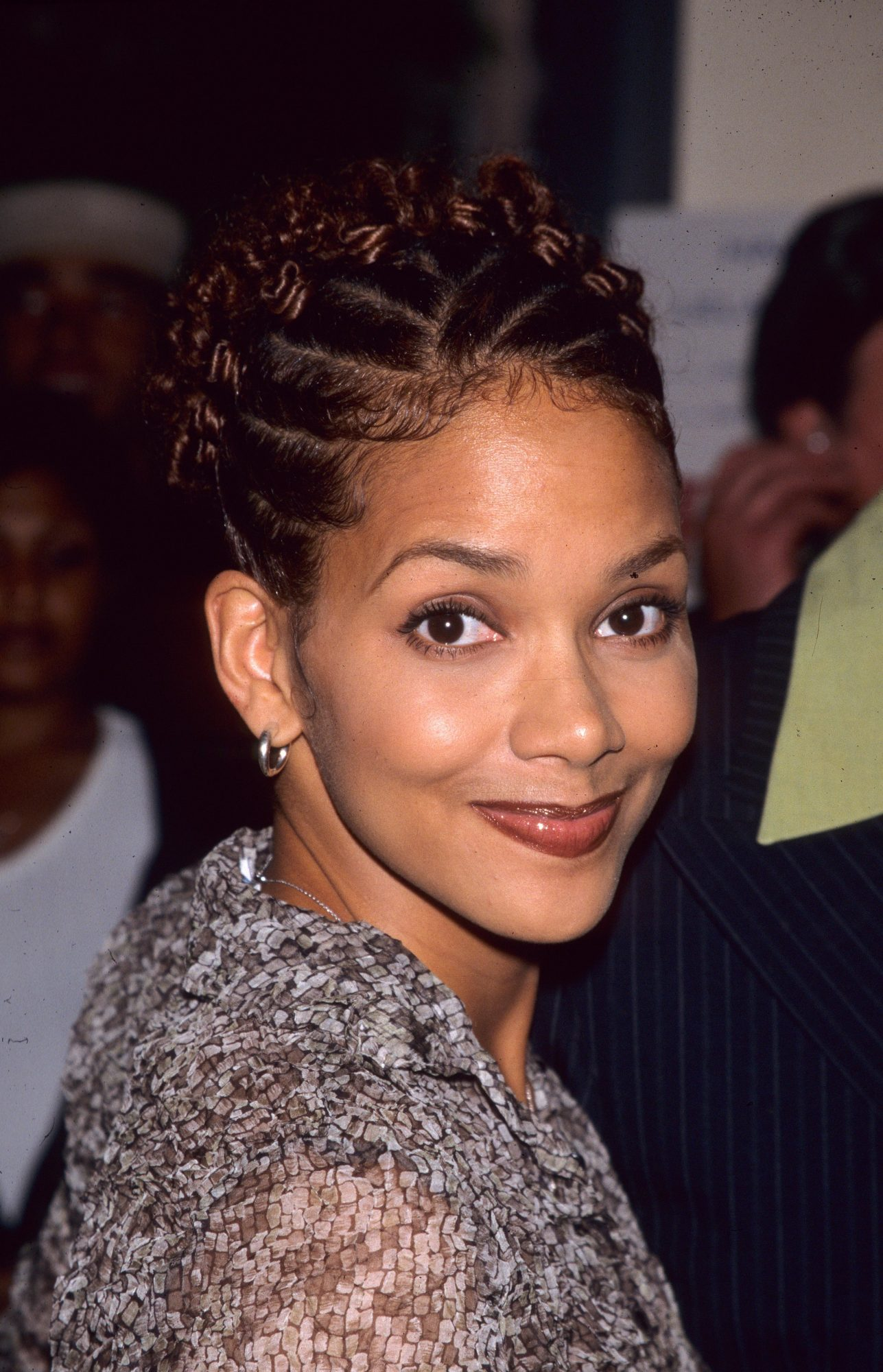Halle Berry Just Brought Back Her Braids From 1998