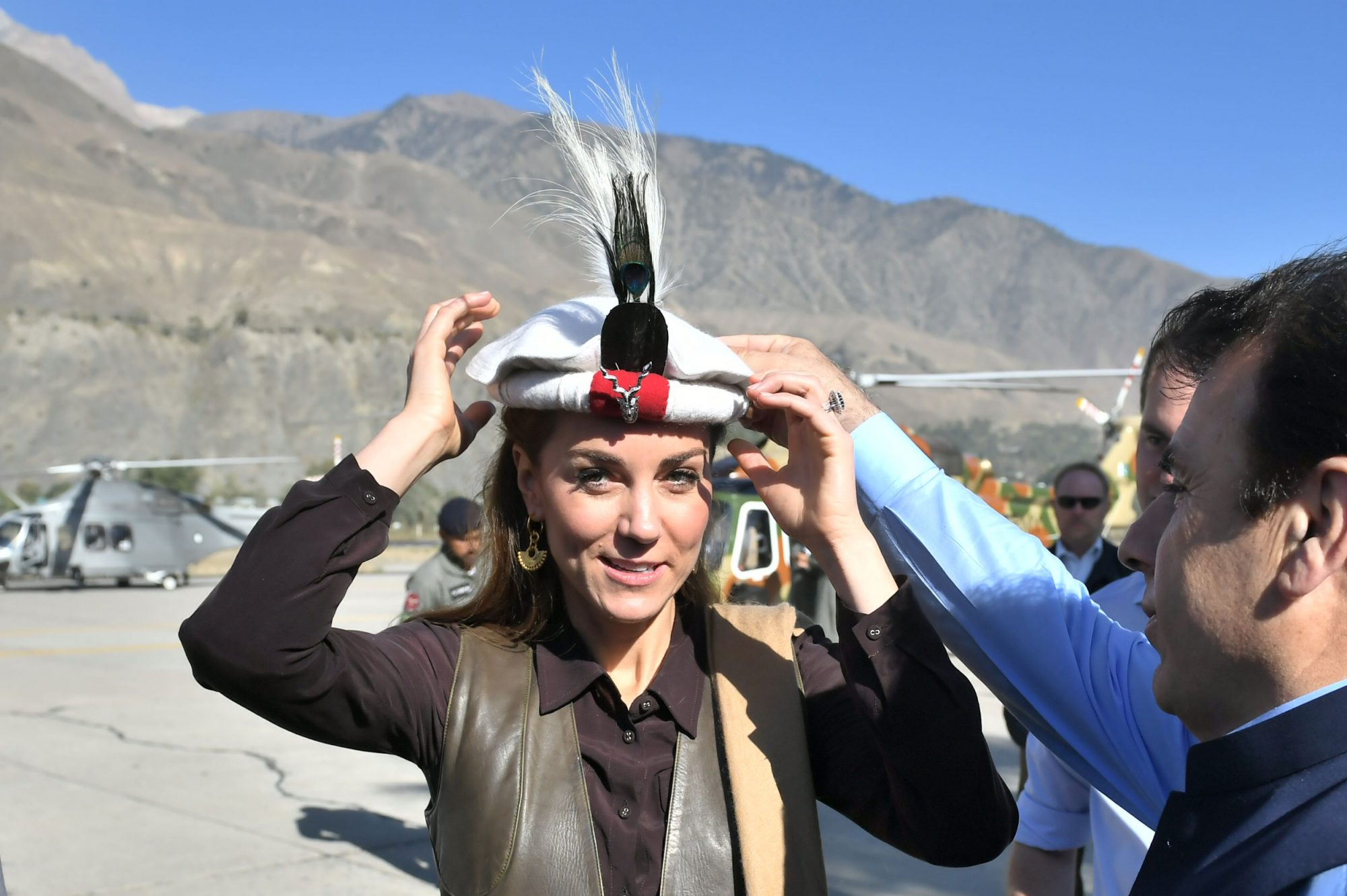Prince William and Kate Middleton arrived at Chitral