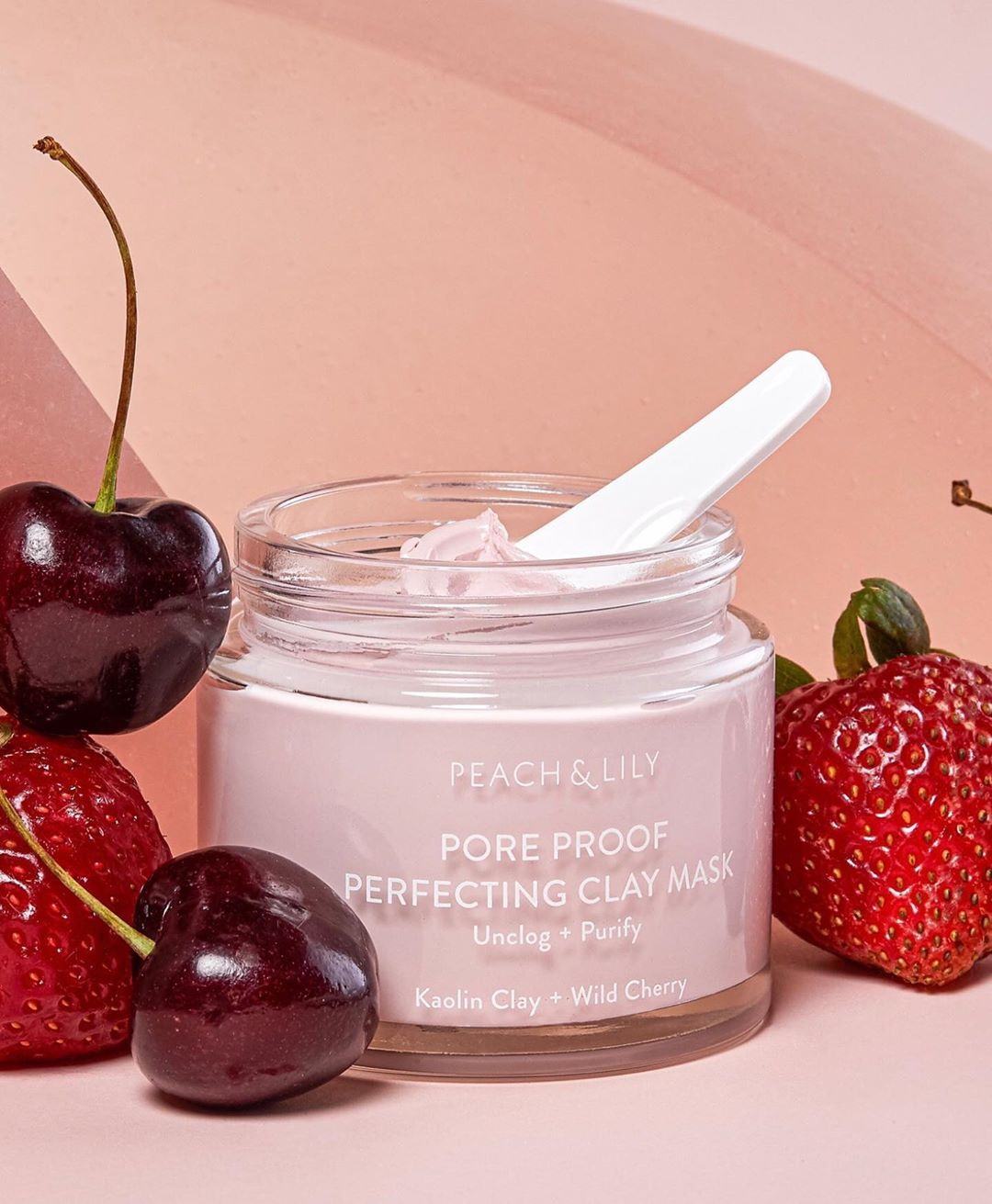 Peach & Lily Face Mask