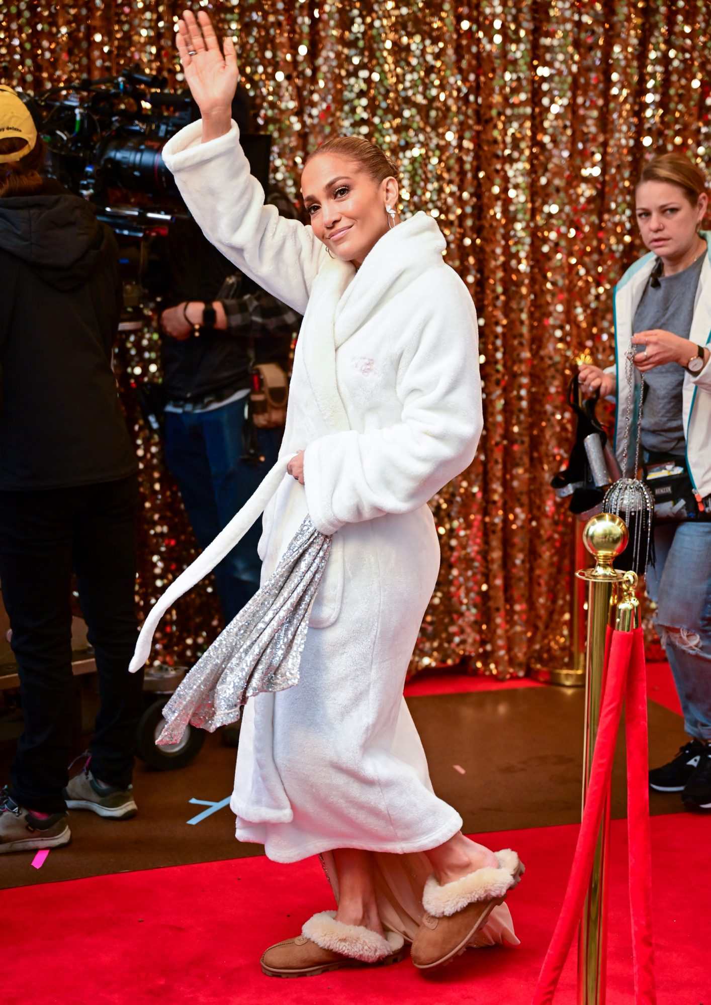These Jennifer Lawrence Approved UGG Slides Are The Most Popular Slippers In Hollywood