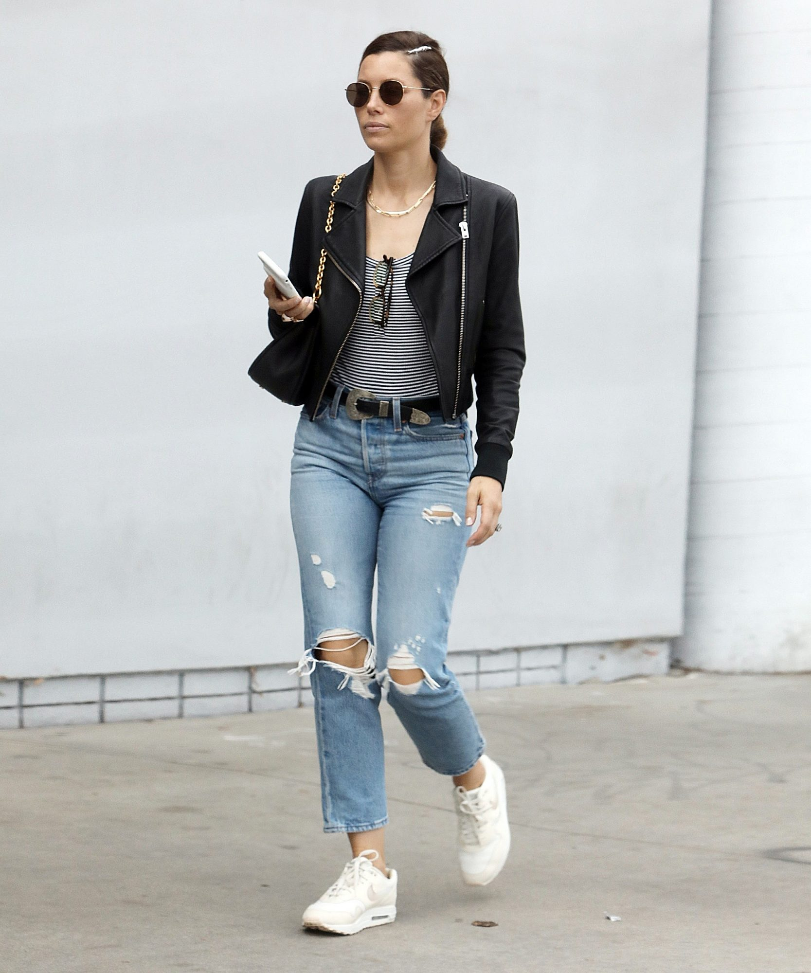 The Levi's Jessica Biel Wore Are Already 25% Off For Nordstrom's Black Friday Sale