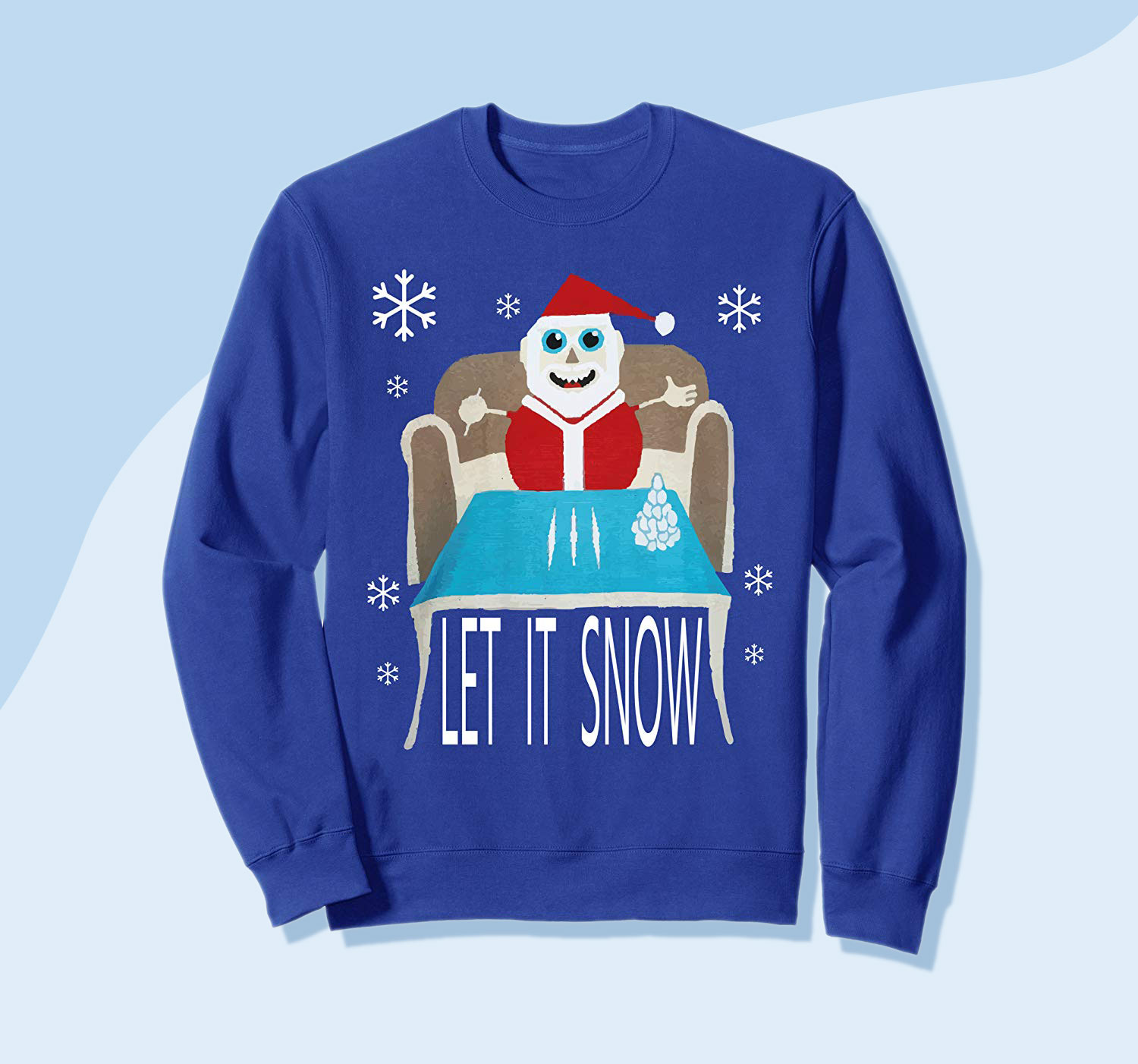 Walmart Pulled the Cocaine Santa Sweater, But Now It's a #1 Bestseller on Amazon