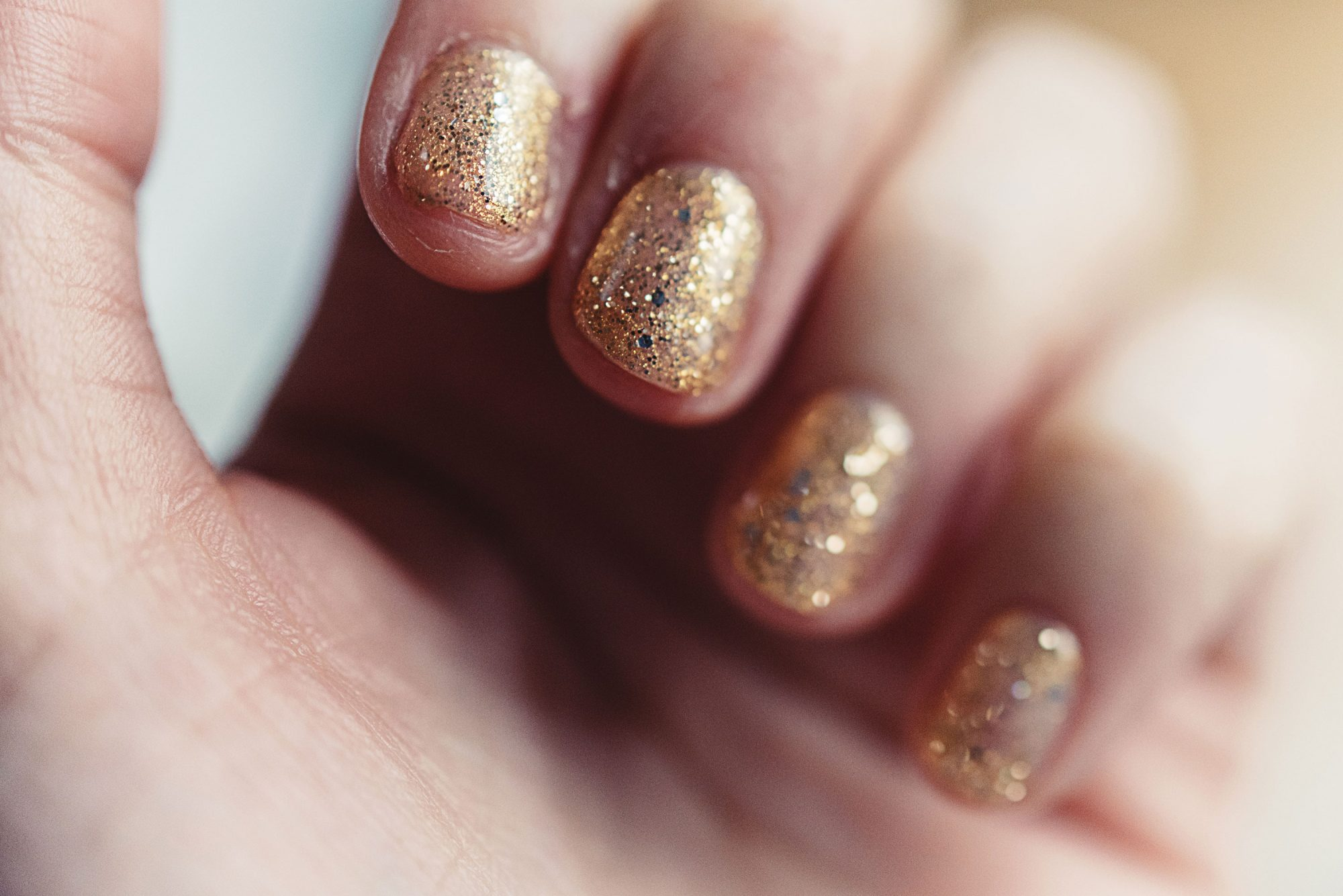 How to Take Off Glitter Nail Polish When it Feels Like You're Stuck With it For Life