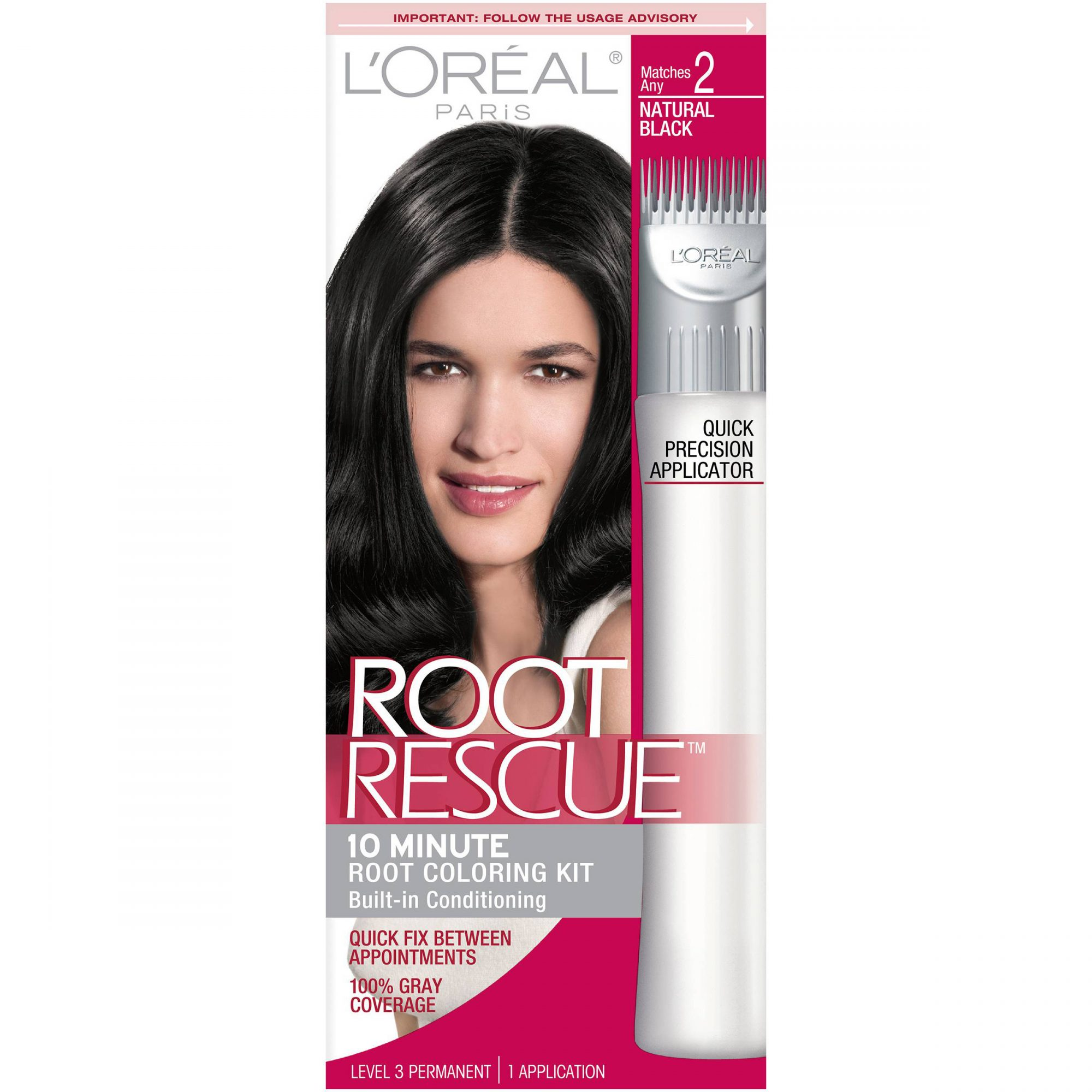 <p>L'Oreal Paris Root Rescue 10 Minute Root Coloring Kit</p>