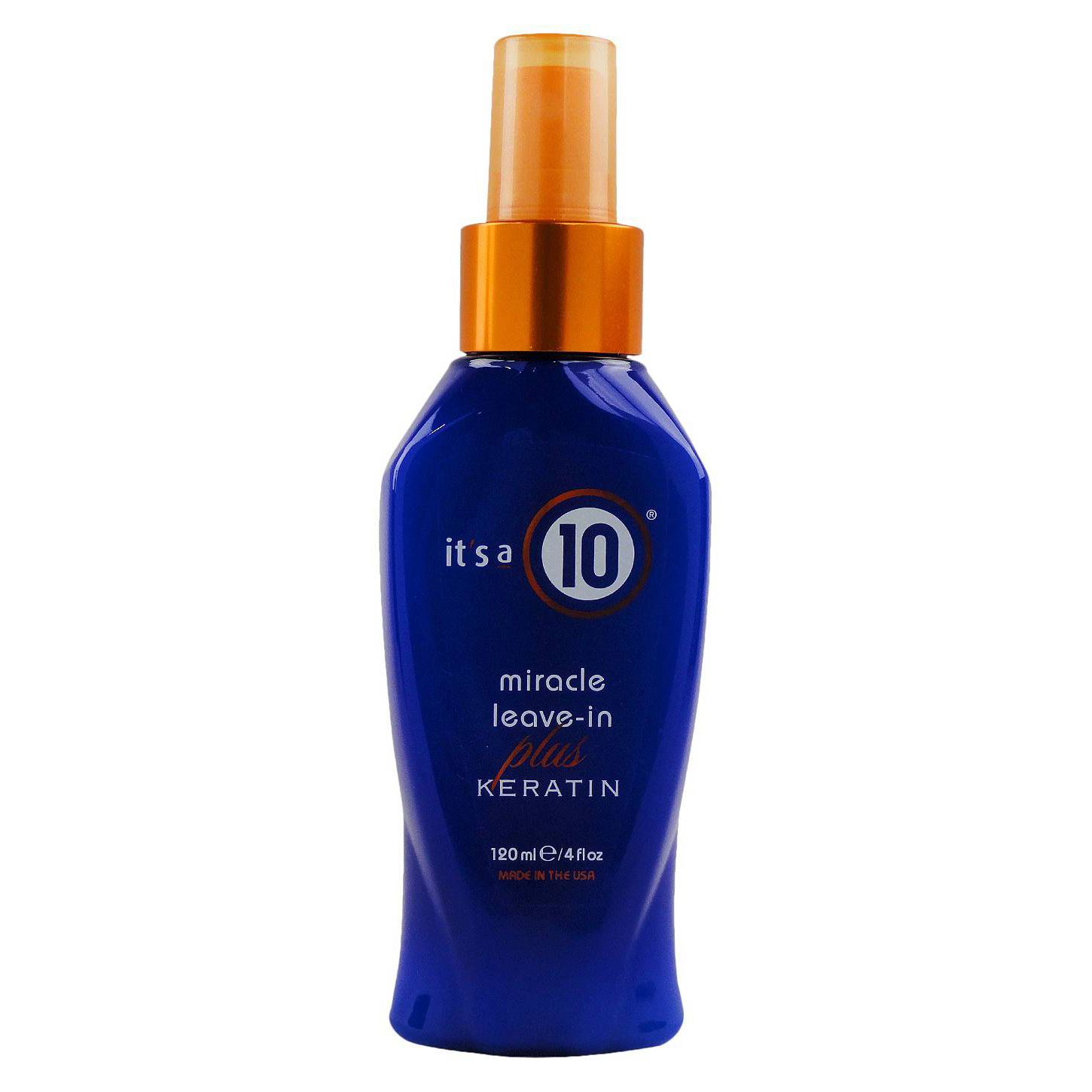 <p>It's a 10 Miracle Leave In Conditioner plus Keratin</p>