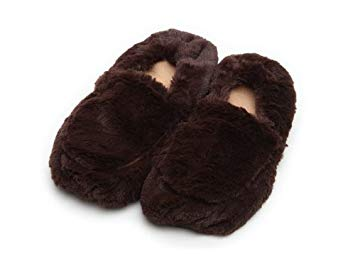 Furry Warmers Fully Microwavable Furry Slippers