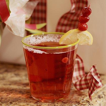Cranberry-Raspberry Spritzer Recipe