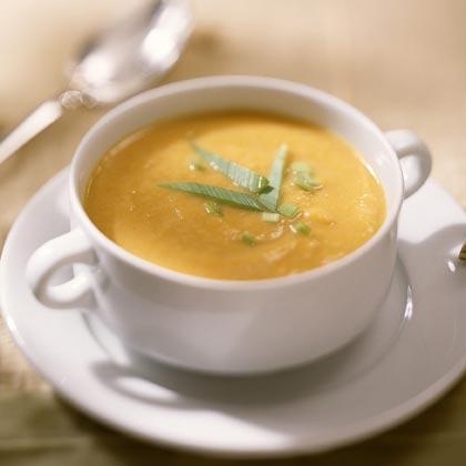 Creamy Sweet Potato Soup Recipe | MyRecipes.com
