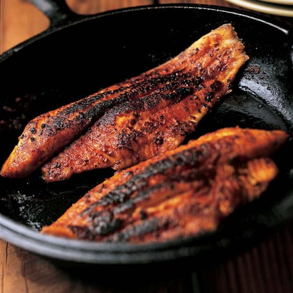 Blackened catfish recipe 0 for How to cook red fish