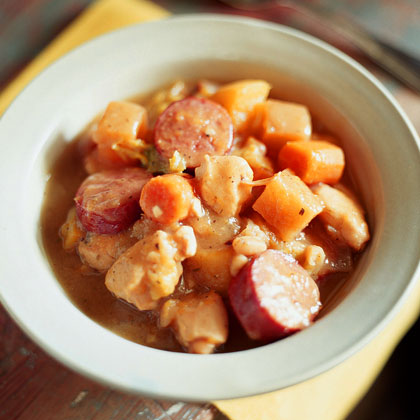 Autumn Ragout with Roasted Vegetables Recipe