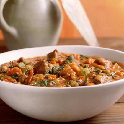 Curried Lamb-and-Lentil Stew Recipe