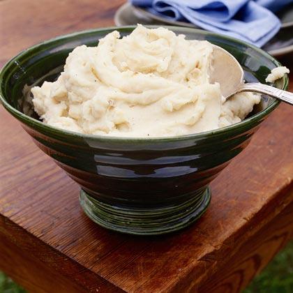 Roasted-Garlic Mashed Potatoes Recipe