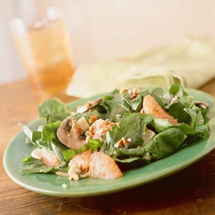 Spinach-and-Grapefruit Salad Recipe