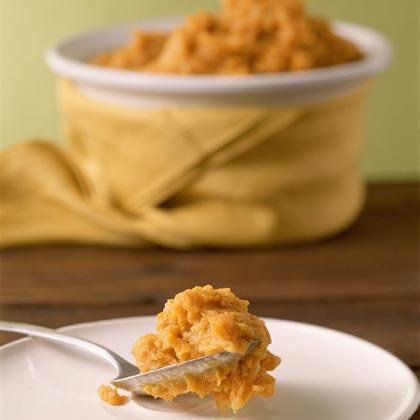 Honey Mustard-Whipped Sweet Potatoes