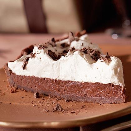 Double-Chocolate Cream Tart