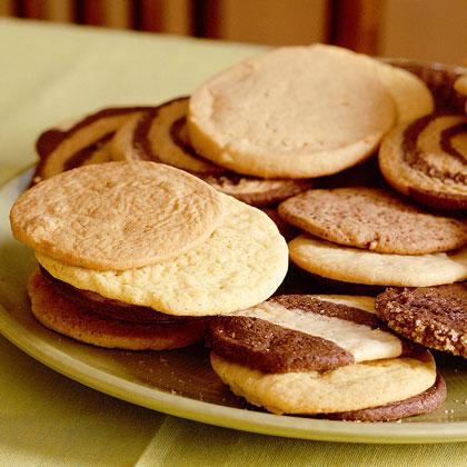 Lemon-Cornmeal Icebox Cookies Recipe | MyRecipes