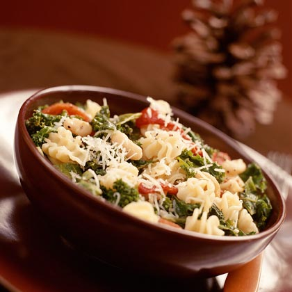 Pasta With White Beans and Kale Recipe