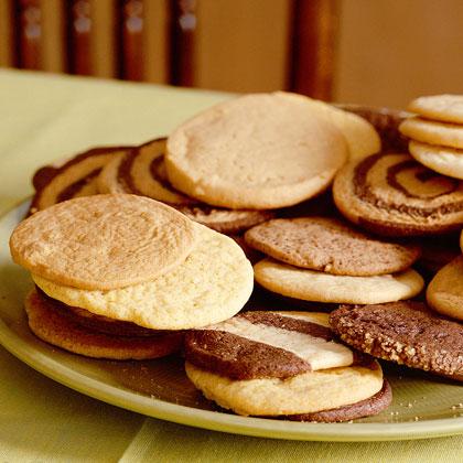 Peanut Butter Icebox Cookies