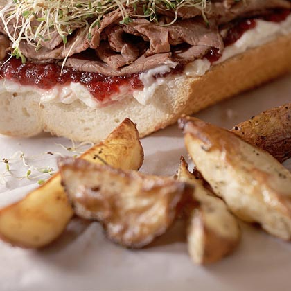 Rosemary Potato Wedges