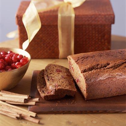 Dried-Cranberry Spice BreadRecipe