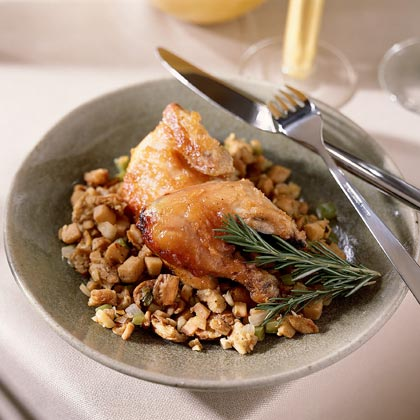 Quince-and-Hazelnut Stuffing Recipe