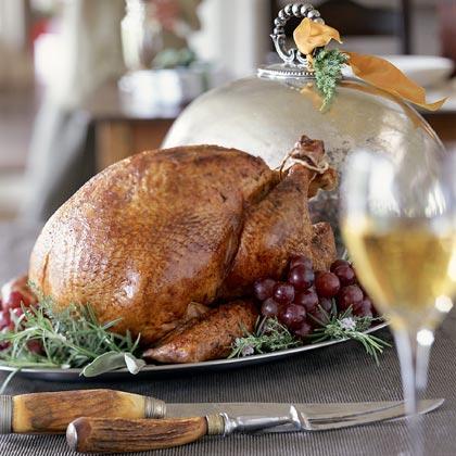 Orange-and-Maple Roasted Turkey With Giblet Gravy
