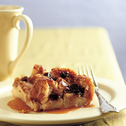 Irish Bread Pudding with Caramel-Whiskey SauceRecipe