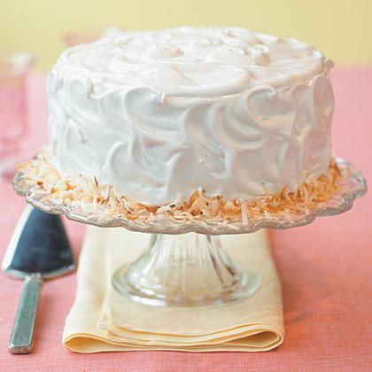 Coconut Triple-Layer Cake