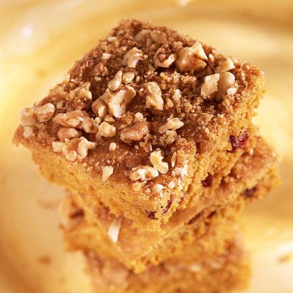 Pumpkin-Cranberry Cake Recipe
