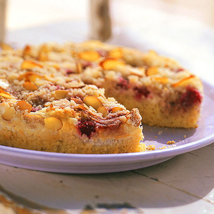 Raspberry-Almond Crumb CakeRecipe