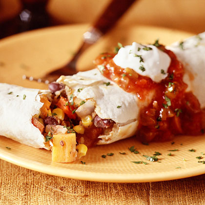 Confetti-Stuffed Burritos Recipe