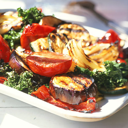 Grilled Vegetables with Balsamic Vinaigrette Recipe