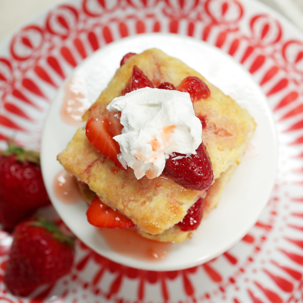 Old-Fashioned Strawberry Shortcakes Recipe