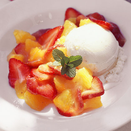 Strawberry-Orange Mélange