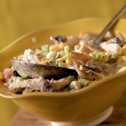 Corn-and-Chicken Chowder Recipe