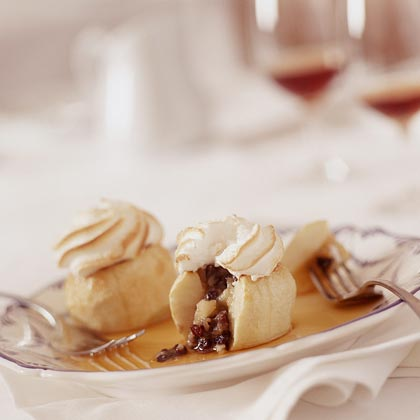 Baked Apples with Meringue Recipe