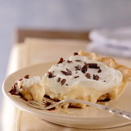 Black Bottom Banana-Cream Pie