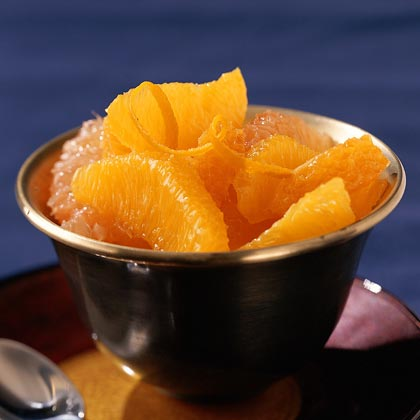 Spiced Citrus CompoteRecipe